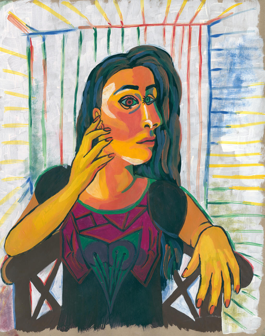 Picasso, Selbstportrait