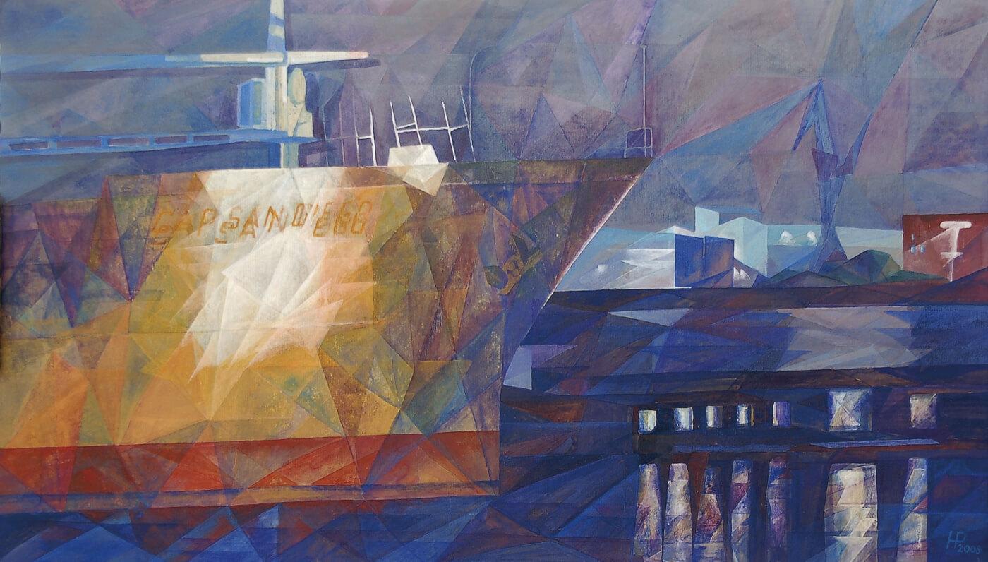 Cap San Diego, Hamburger Hafen, Schiffe, Malkurs