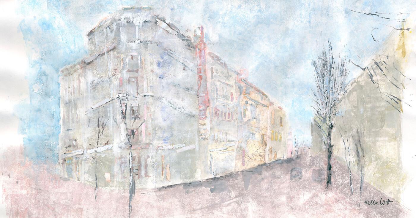 Strassen in Hamburg, Eckhaus, Impressionen