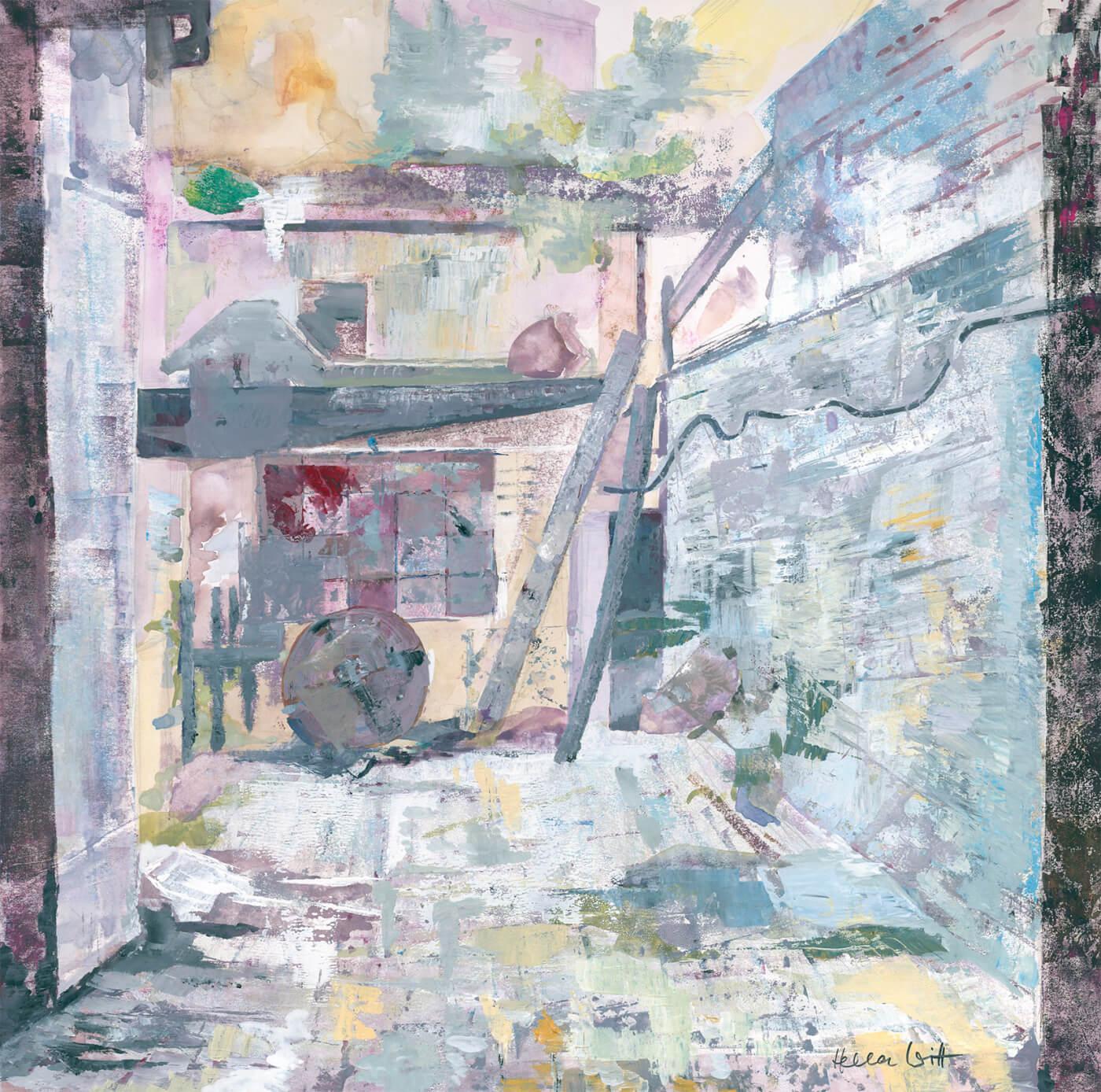 Ottensen, Hinterhof, Stadtteil, Kunst