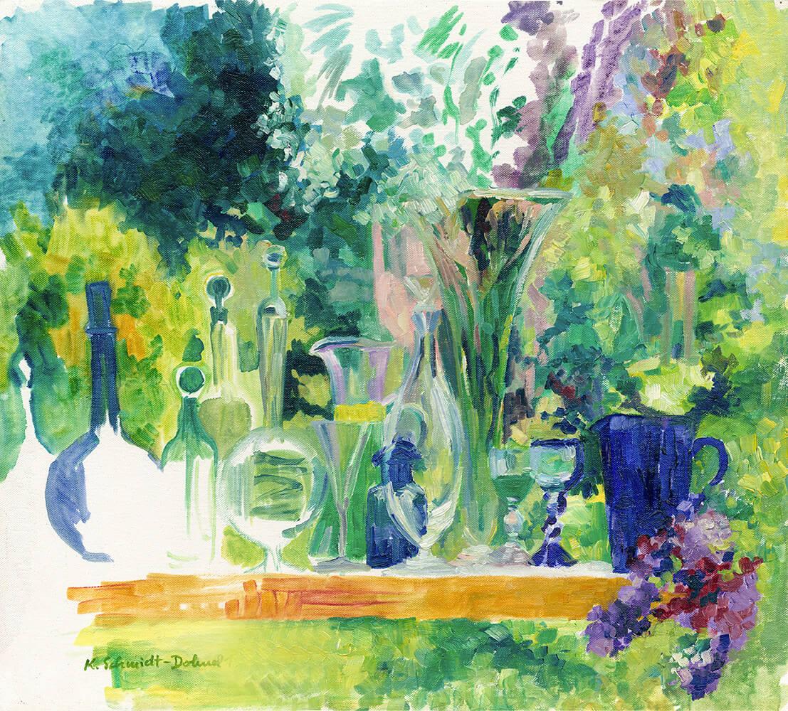 Stilleben, Sommergarten, Sommerparty