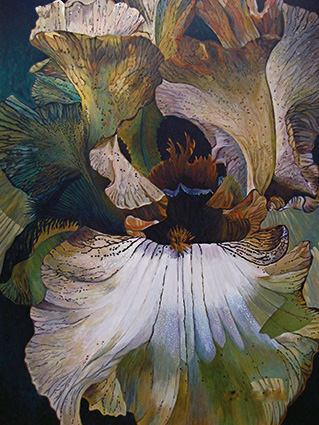 Lilienanatomie, Blume, Malkurs, Marliese Schröder, Mallorca
