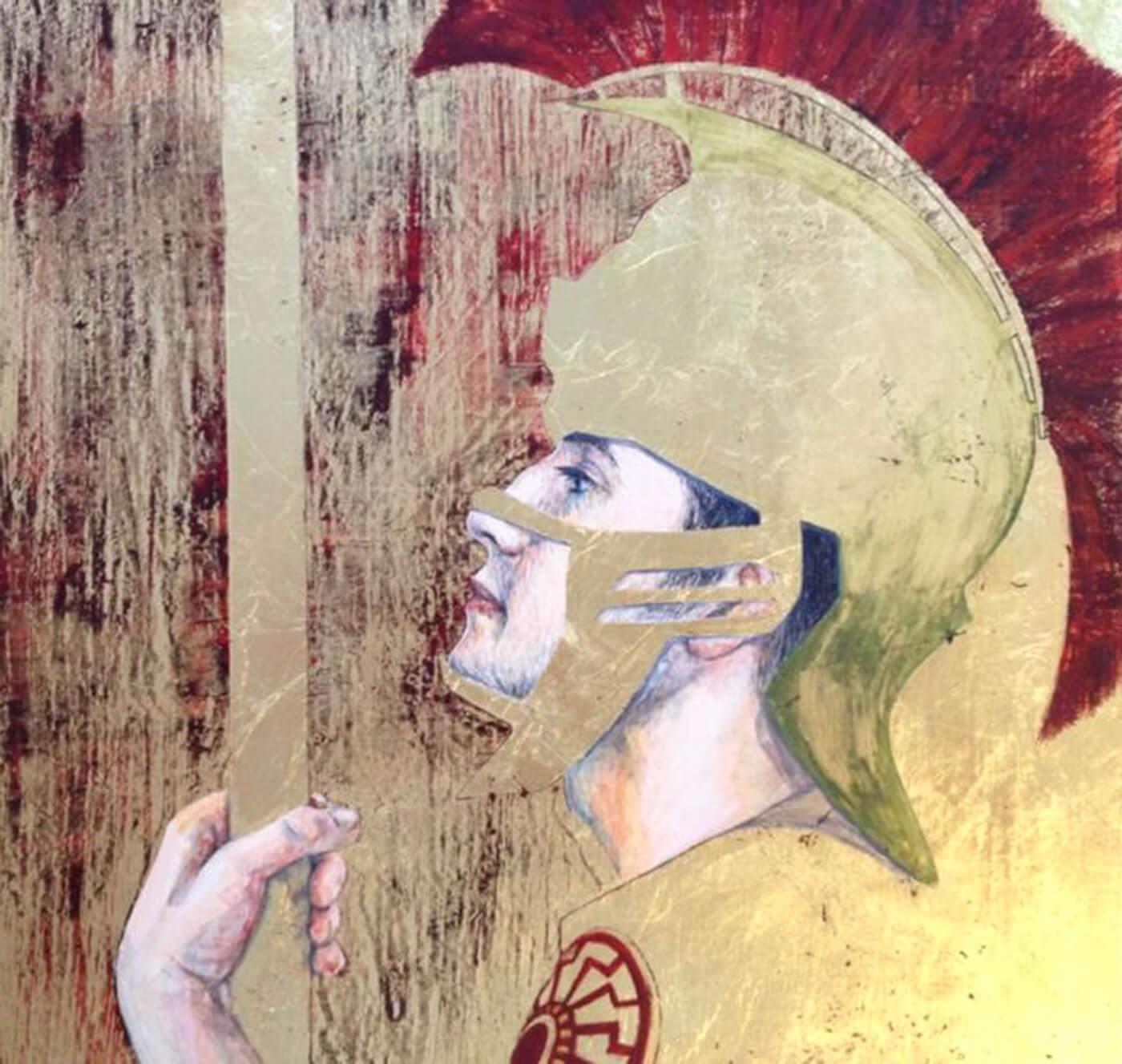 Gold, Helm, Workshop, Eitempera, Vergoldung, Art