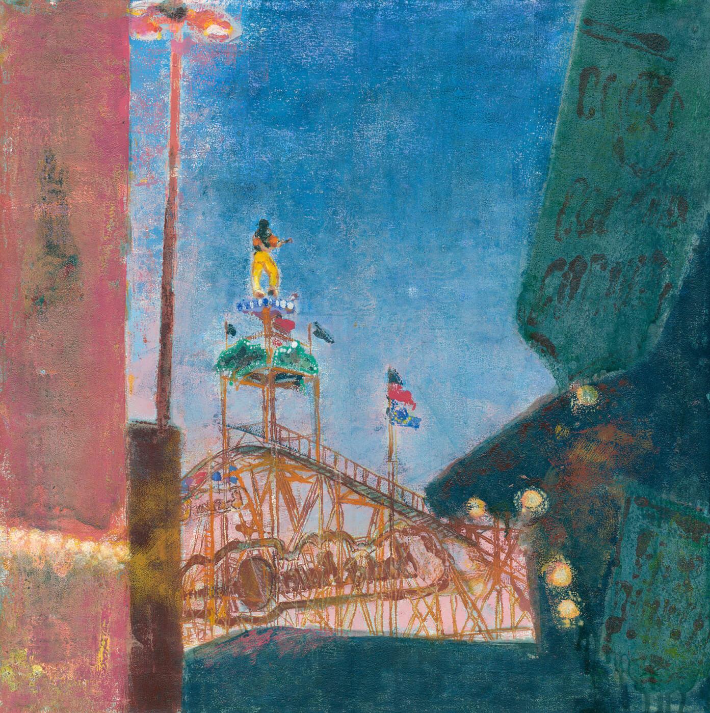 Hamburger Dom, Malkurs, Jahrmarkt, Impression