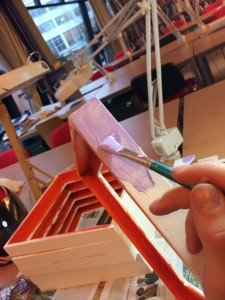 Ausstellung Tryptichos Rahmen bearbeiten