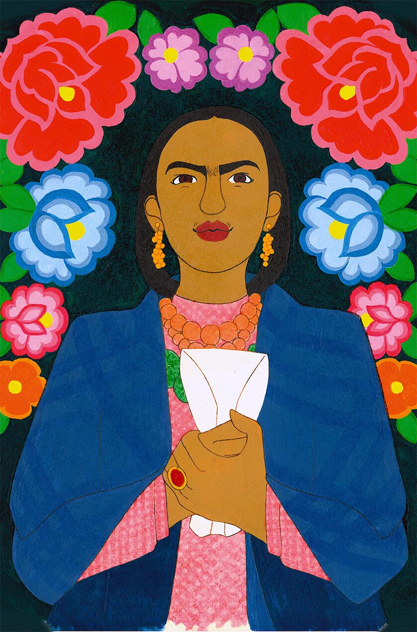 Examensarbeit zu Frida Kahlo