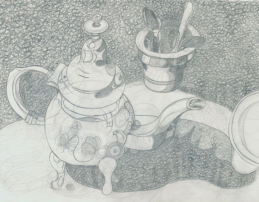 Disney, Kreise, Bleistift , Zeichnung, drawing