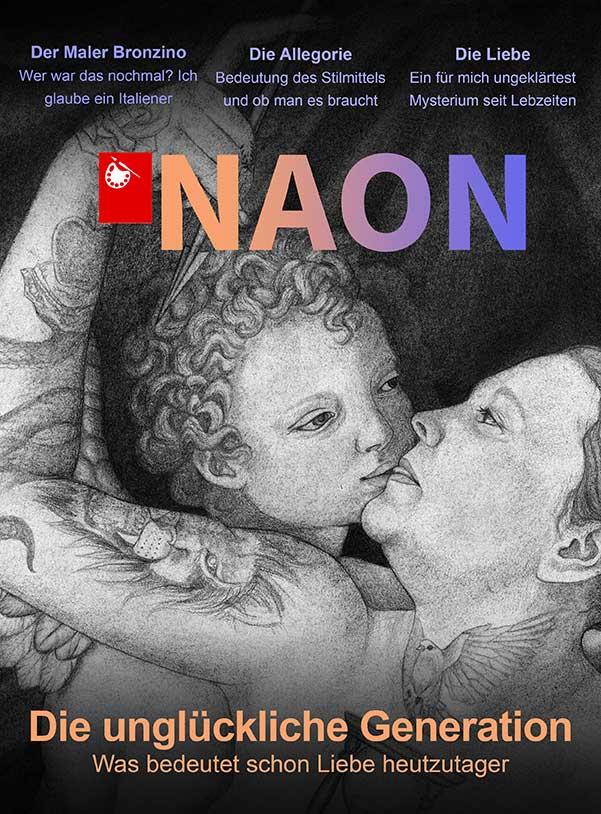 Magazin, Neon, Illustration, Allegorie der Liebe, Covergestaltung, Tattoo