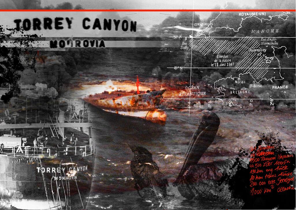 Ölpest, Ölkatastrophe, Collage