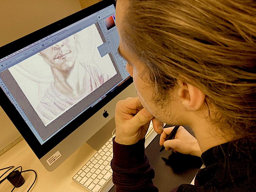 Fachsemester Digitales Gestalten Auseinandersetzung