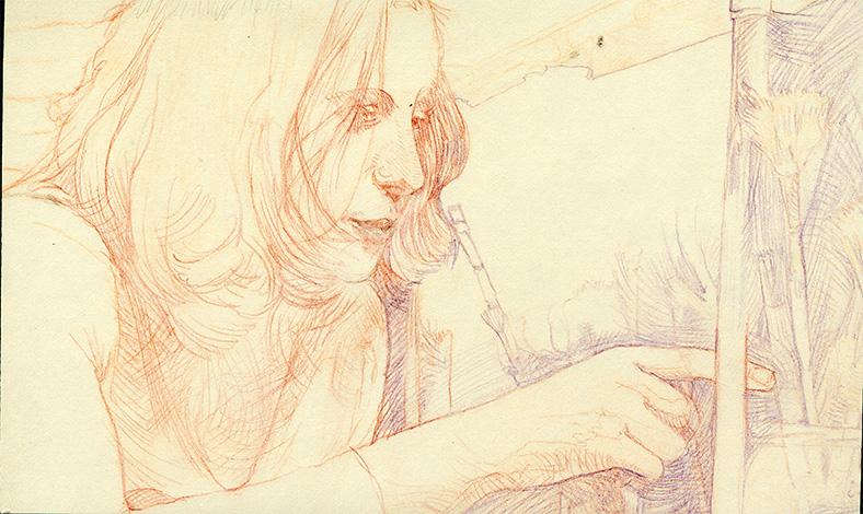 drawing illustration Akademie Leonardo